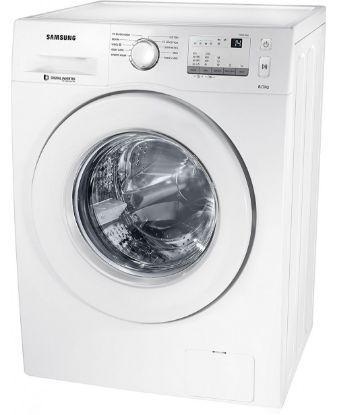 Picture of Samsung  WW80J3237KW/Tl Front Loading Washing Machine, White-8kg