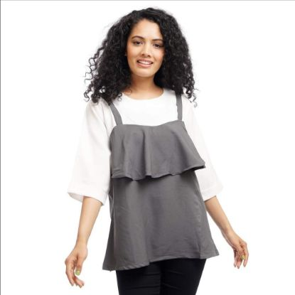 Picture of Women's Spring Layered Top By Attire Nepal