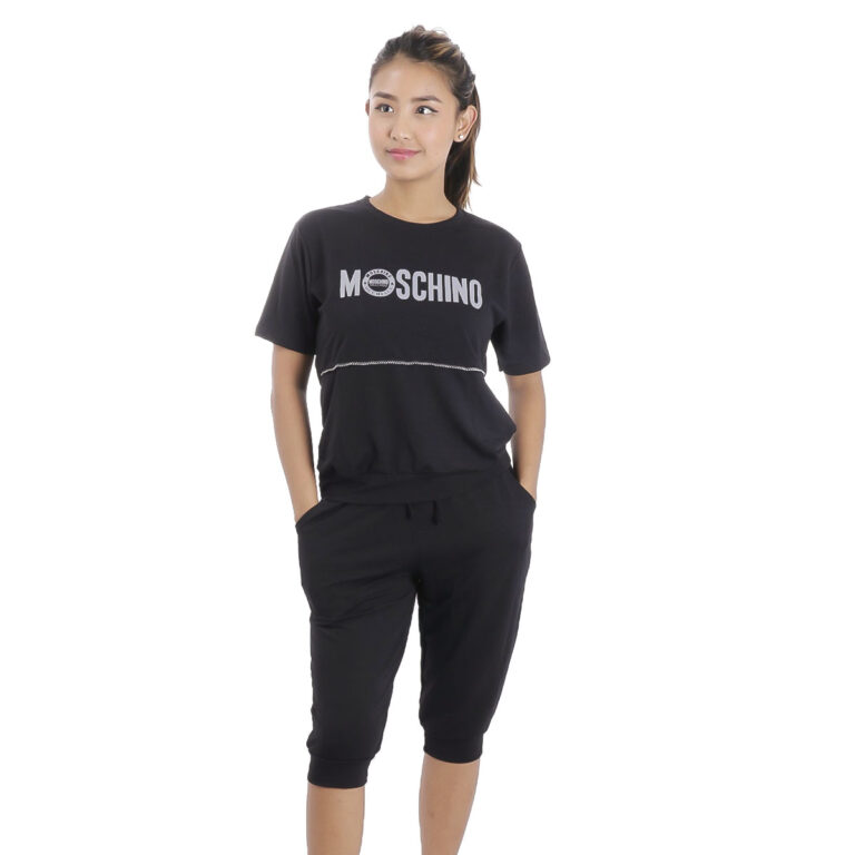 Picture of Women's Half Sleeve T-Shirt And Quarter Pant Set By Attire Nepal