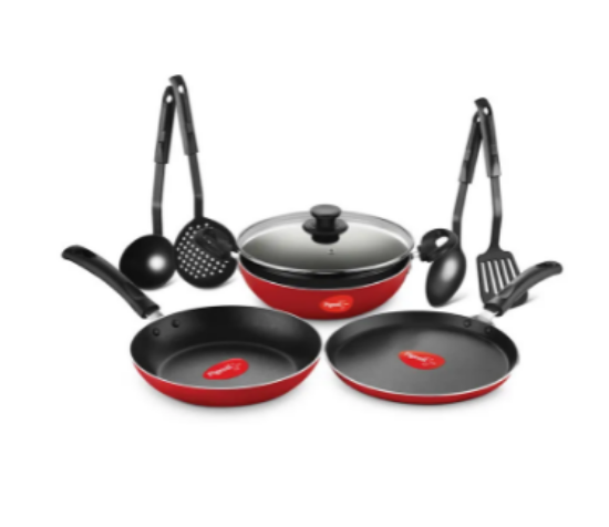 Picture of Pigeon 8 Pcs Nonstick Induction Base Giftset